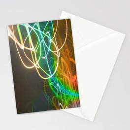 Rainbow Light Graffiti Stationery Cards