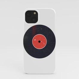 Vinyl Record Zodiac Sign Aries iPhone Case