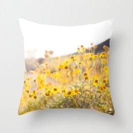 Arizona Wildflowers Throw Pillow