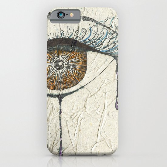 Sad Eye iPhone & iPod Case