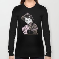 Pussycat Portrait   No. 2 of 2 from The Owl and the Pussycat Set Long Sleeve T-shirt