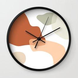 Shapes II Wall Clock