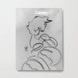 Profile in Nature. Eve. Metal Print