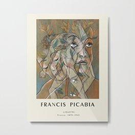 Poster- Francis Picabia-Ligustri. Metal Print