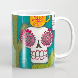 Skulls, Cacti and Atomic Coffee Coffee Mug
