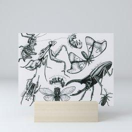 Bug Collection Mini Art Print
