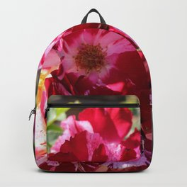 Pink and White Flowers Backpack