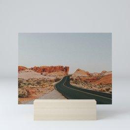 Desert Road Trip IV Mini Art Print