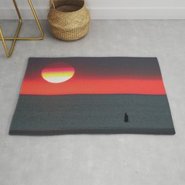 Mercury at Sunset Rug