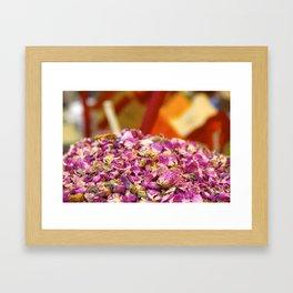 Spices Framed Art Print