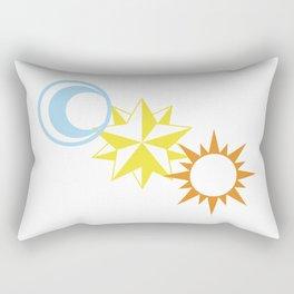 Celestial Magic Rectangular Pillow