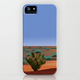 Twilight in the Desert iPhone Case