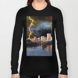 Stormy Richmond Skyline Long Sleeve T-shirt