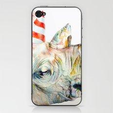 Rhino's Party iPhone & iPod Skin