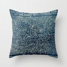 The stone Throw Pillow
