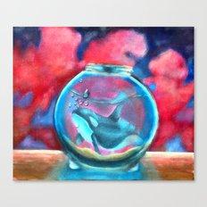 Blackfish 2 Canvas Print