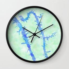 Kentucky Lake Wall Clock