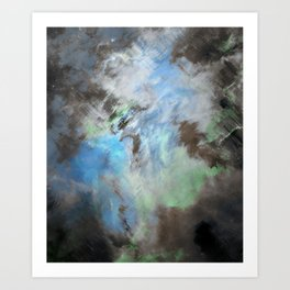 Beyond the Storm Art Print