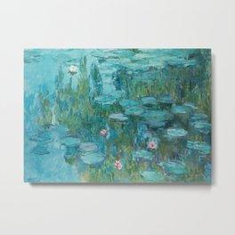 Water Lilies 2 Metal Print
