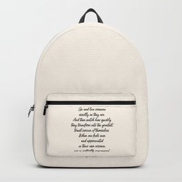 Love Someone Backpack