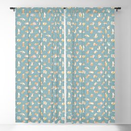 Corgi Day After Night Party With Fairies Blackout Curtain