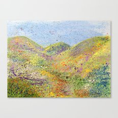 Painted Hills Canvas Print