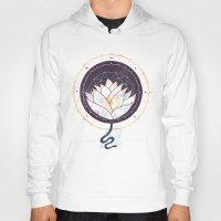 lotus Hoodies featuring Lotus by Hector Mansilla