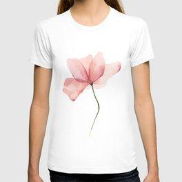 Watercolor Flower Original Artwork T-shirt