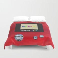 Retro Nintendo Gameboy pokedex pokeball iPhone 4 4s 5 5c, ipod, ipad, pillow case tshirt and mugs Duvet Cover