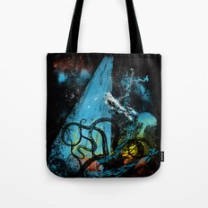 diving danger Tote Bag