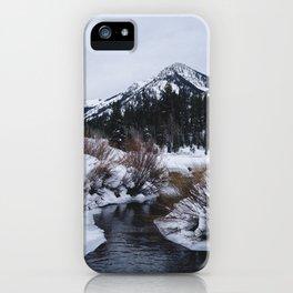 My favorite spot in Big Cottonwood iPhone Case