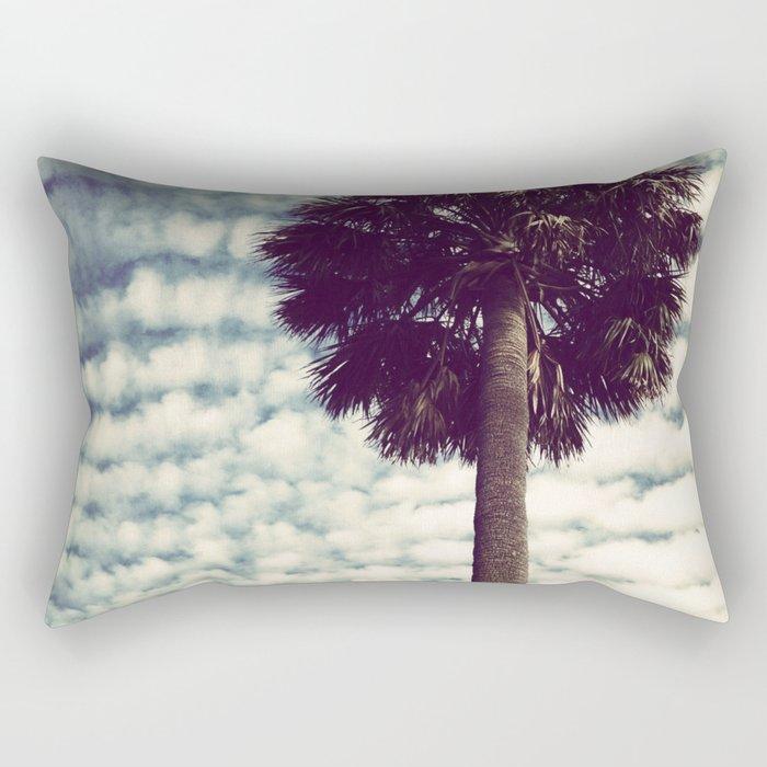 Charleston Palm Rectangular Pillow
