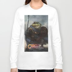 A knightly Frog  Long Sleeve T-shirt