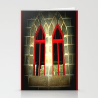 medieval Stationery Cards featuring Medieval Windows by Chris' Landscape Images & Designs