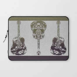 Faded Guitars Laptop Sleeve
