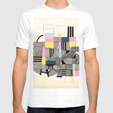 - architecture#01 - Mens Fitted Tee MEDIUM White