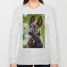 Cute Malinois - shephard puppy Long Sleeve T-shirt