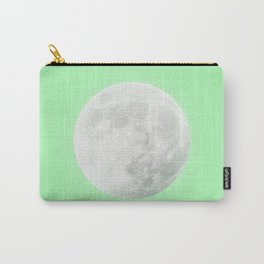 WHITE MOON + LIME SKY Carry-All Pouch