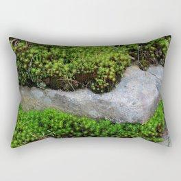 Vibrant Moss Rectangular Pillow