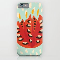 Red Abstract Tulip Slim Case iPhone 6s