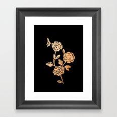 PAPERCUT FLOWER 3 Framed Art Print