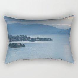 Majestic Lake Maggiore Rectangular Pillow