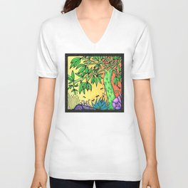 Ancient Tree Unisex V-Neck