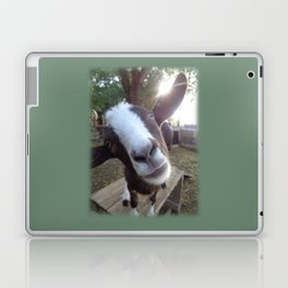 Goat Barnyard Farm Animal Laptop & iPad Skin