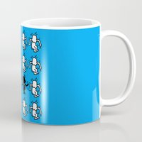 keith haring Mugs featuring Keith Haring & star W. by le.duc