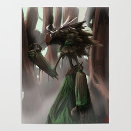Swamp Giant Poster