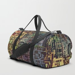 Where Are YOU -4 / Urban Density Duffle Bag