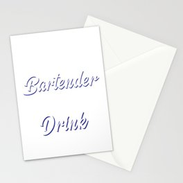 Better Drinks When Tipped Design Stationery Cards