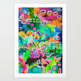 Structured Chaos Art Print