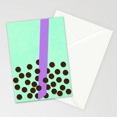 Honeydew Milk Tea Stationery Cards